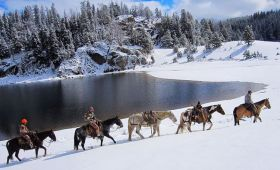 Scenic Wyoming Back Country Hunt